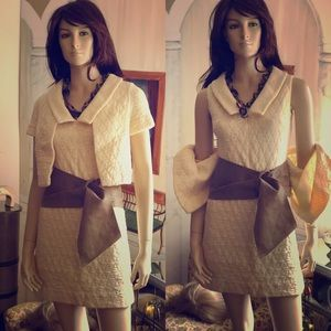 Adorable Vintage Kimberley Sweater & Jacket Set